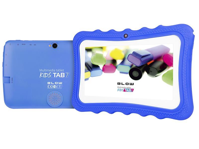 LED21 Tablet KidsTAB7 BLOW quad silikonové pouzdro modré